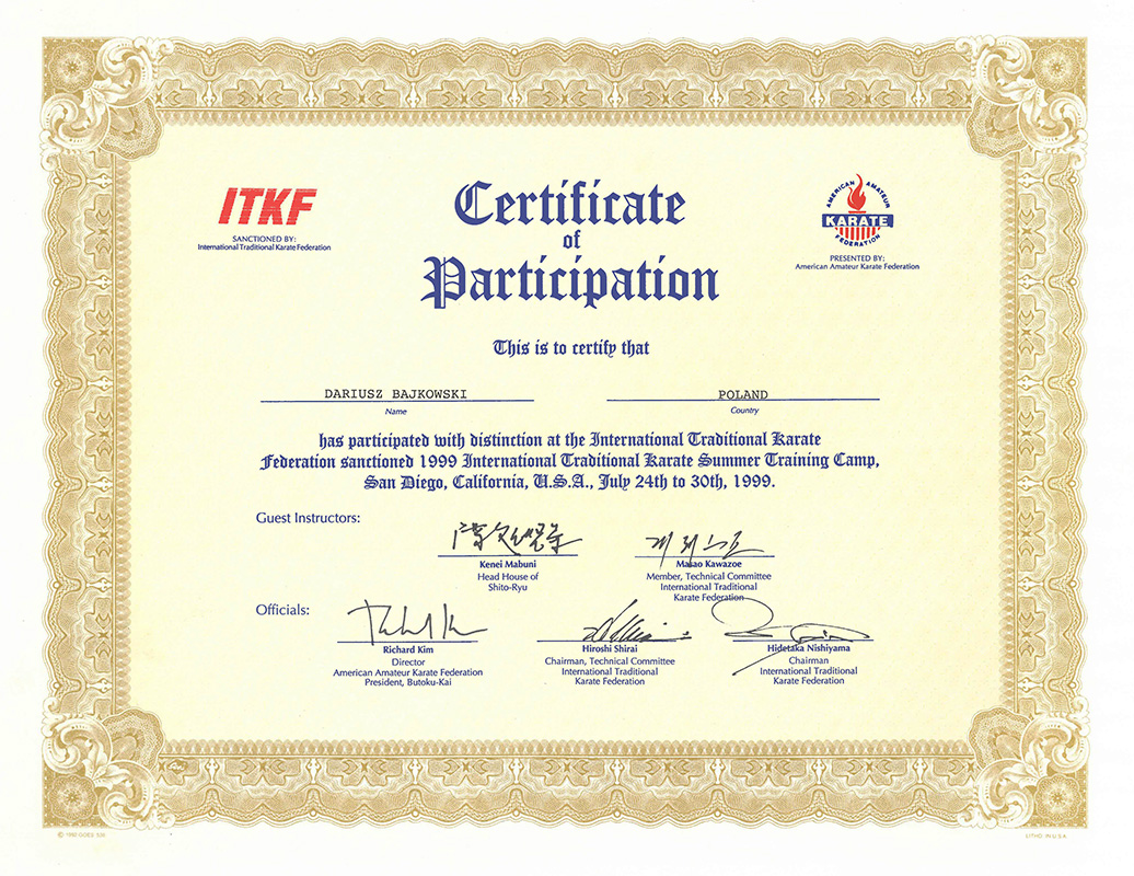 ITKF-PARTICIPATION