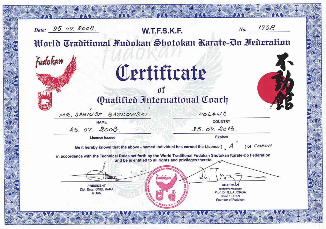 certyfikat-fudokan-coach