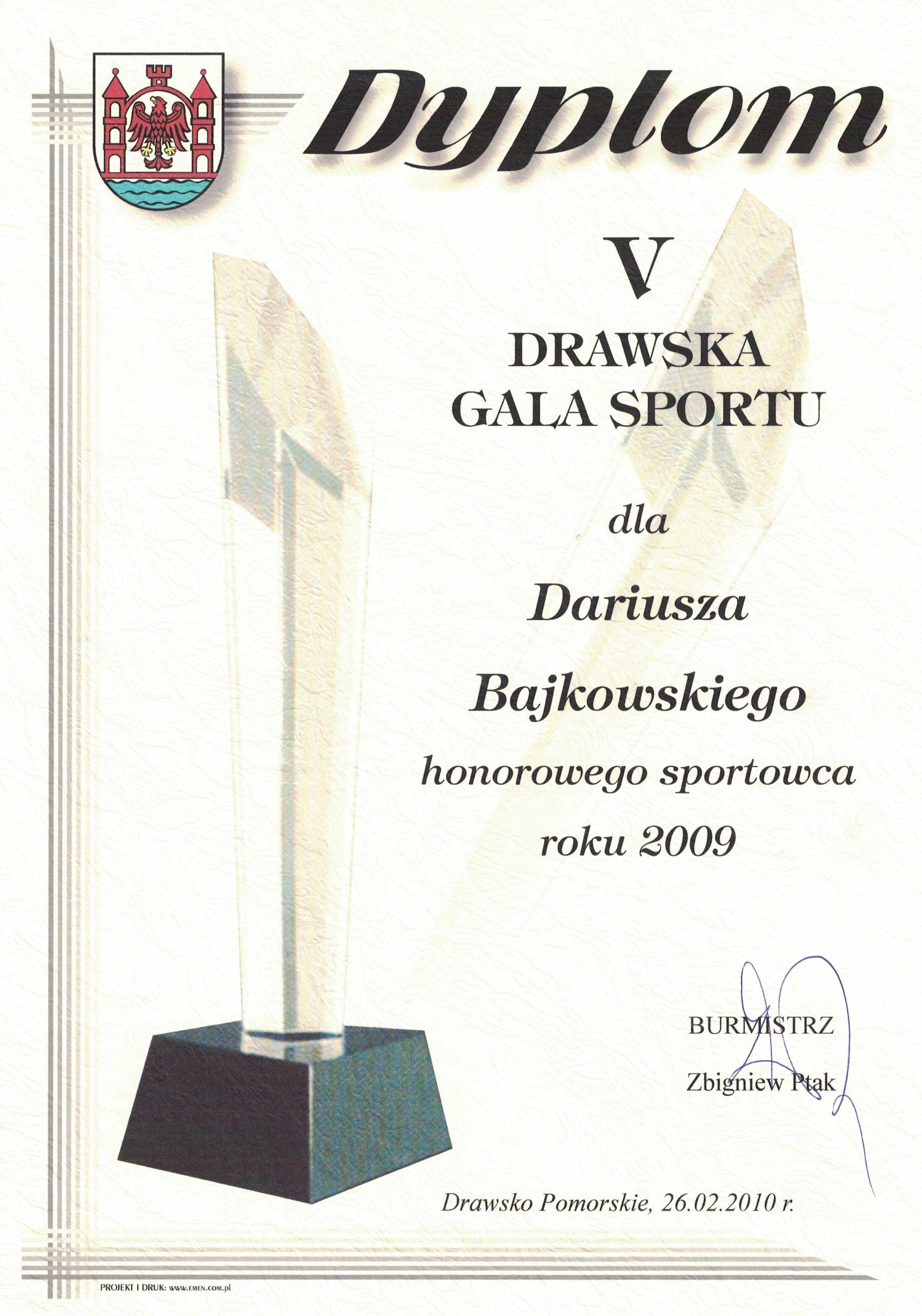 Dariusz-Bajkowski-honorowy-sportowiec